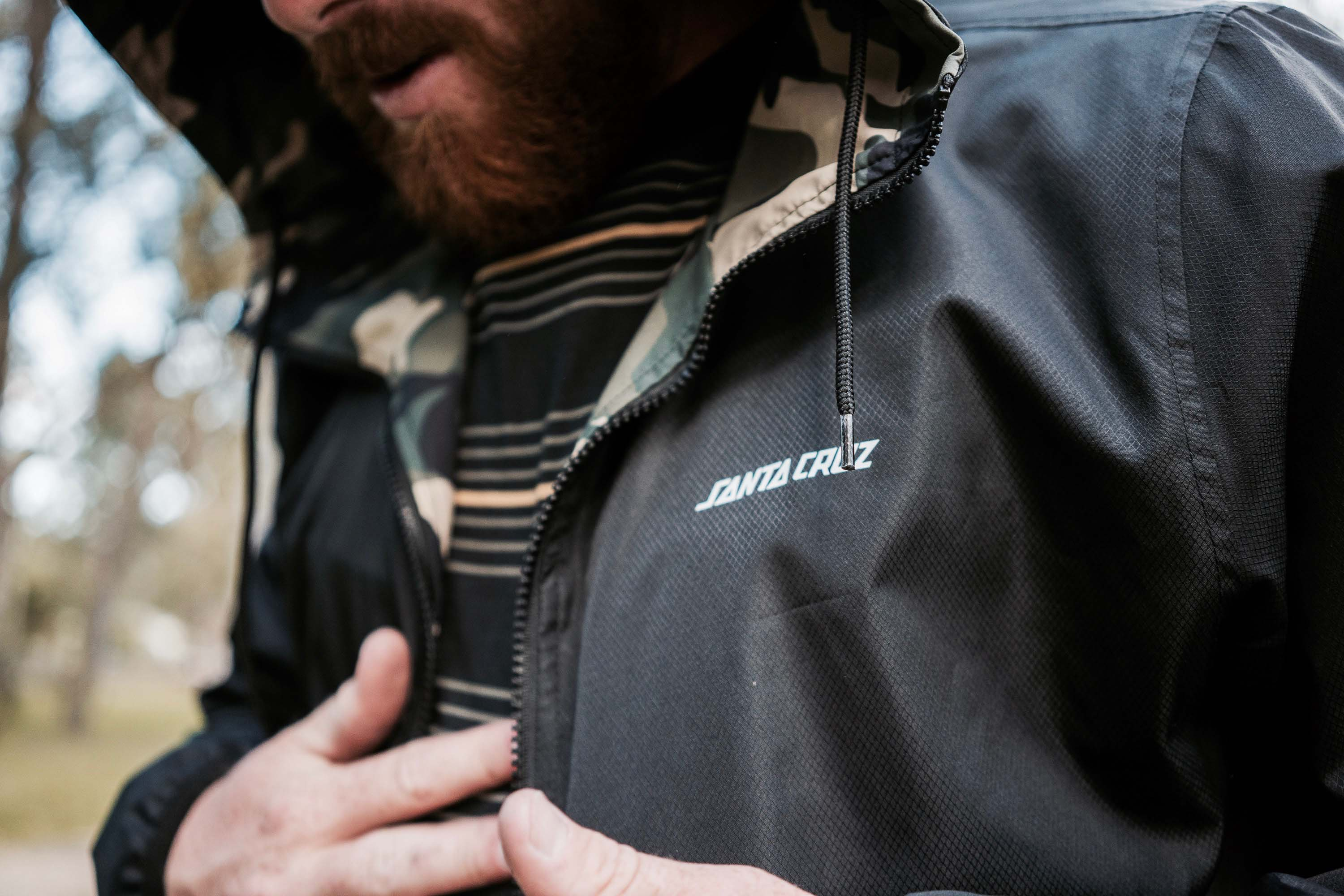 Santa Cruz HEDGES REVERSIBLE JACKET