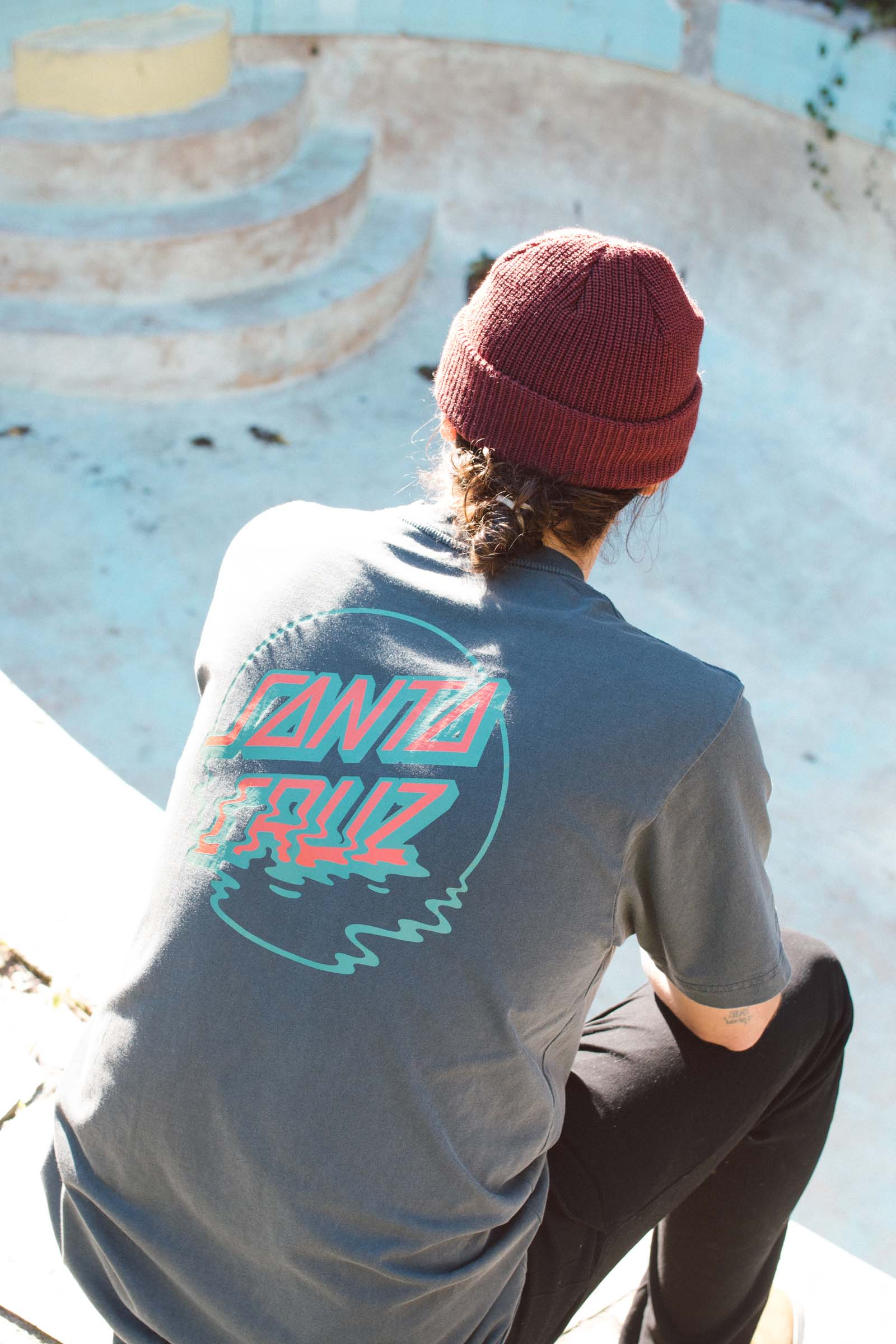 Santa Cruz DOT REFLECTION TEE