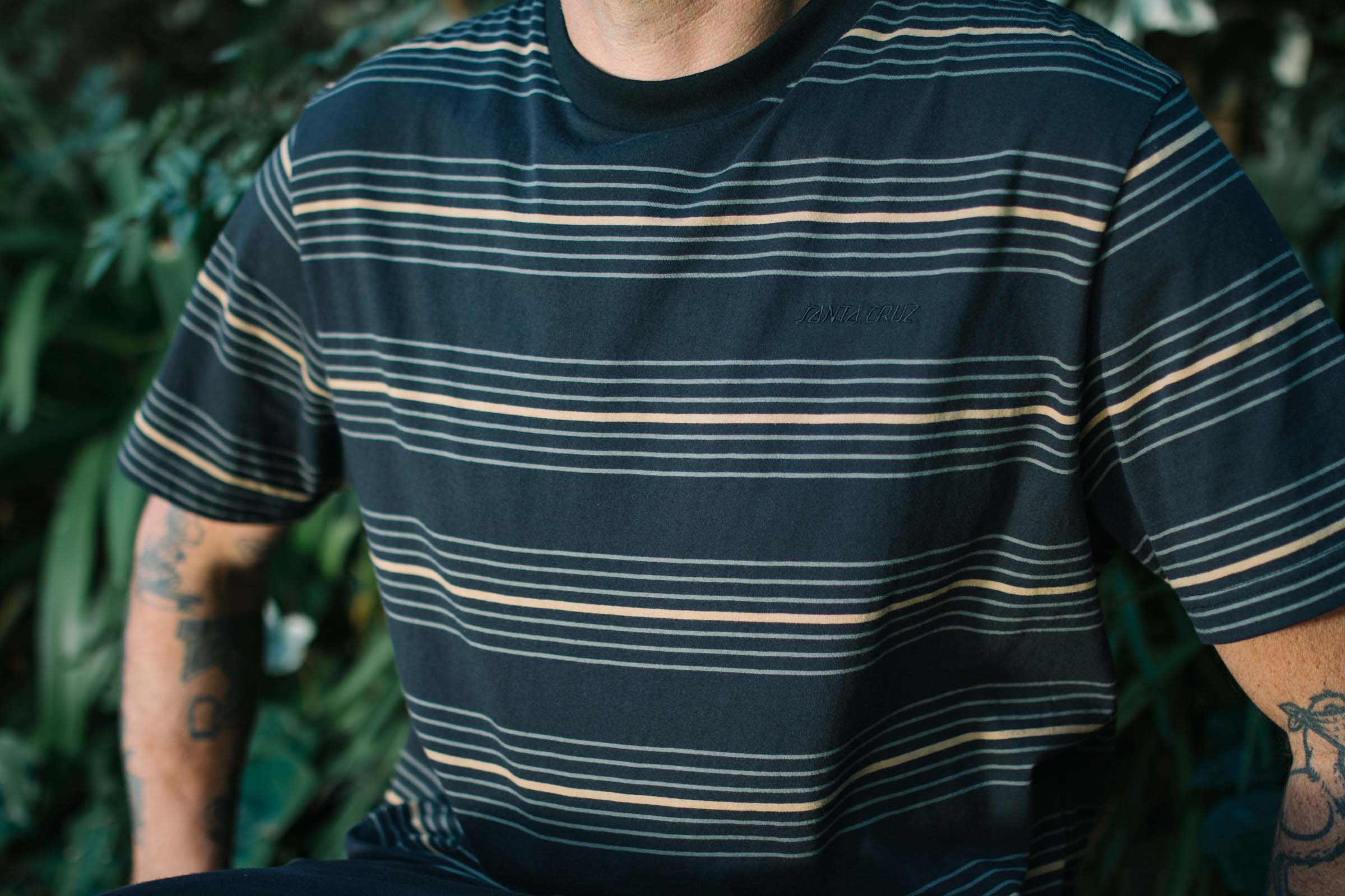 Santa Cruz UNION STRIPE SS TEE